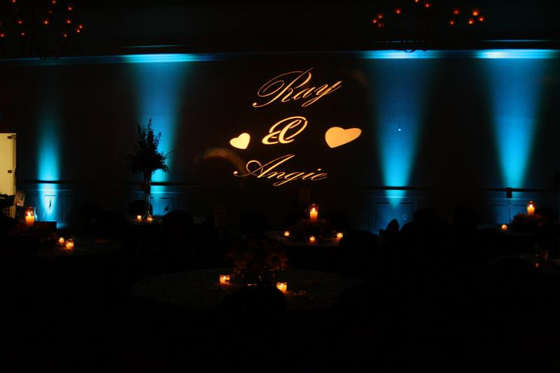 MONOGRAM IMAGE NAMES & LOGOS PROJECTED - ERIE UPLIGHTING